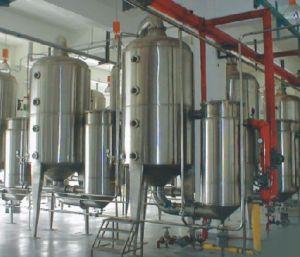 Evaporador de película de queda triplo do efeito do leite