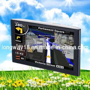 5.0Inch portátil con pantalla táctil Navegador GPS de coche / Navegación (LV-580)