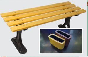 庭のための屋外のPlastic Steel Bench