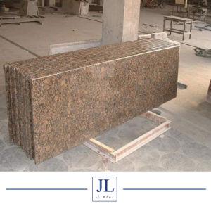 建築材料のNaturelの石造りの安い中国の黄色く黒い灰色の赤いベージュ花こう岩の平板はカウンタートップの虚栄心の上をタイルを張る