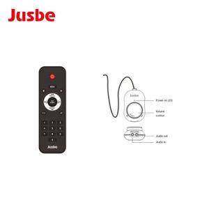 Jusbeのリモート・コントロールのプロ可聴周波動力を与えられた机の拡声器かスピーカー
