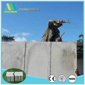 Isolamento de som Zjt Moistureproof cimento do tipo sanduíche de EPS/Board para parede interior