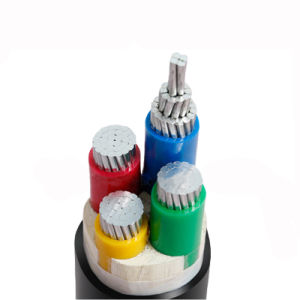 Na2xy Laag Voltage Vier Ondergrondse Kabel van het Aluminium van de Kern de pvc Geïsoleerde