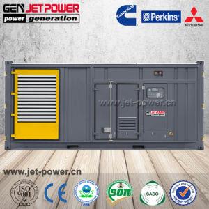 200kVA 250kVA 500kVA 1000kVA insonorizado gerador do motor Diesel Perkins