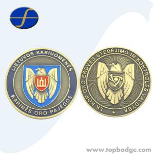 Venda Custom Design antigo exército de Metal Eagle antigas moedas (FTCN1953A)