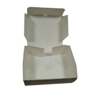 Blanc de boîte à gâteau au fromage de catégorie comestible à l'intérieur avec l'impression faite sur commande