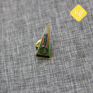 中国の工場価格のエナメルの金属のフルーツの形の小さい折りえりのバッジPin