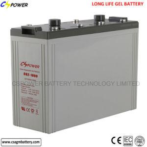 2V1000ah batería solar batería de gel de ciclo profundo
