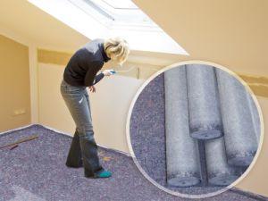Pintor Eco-Friendly sentida Pintor Ambiental/Tapete com folha de PE