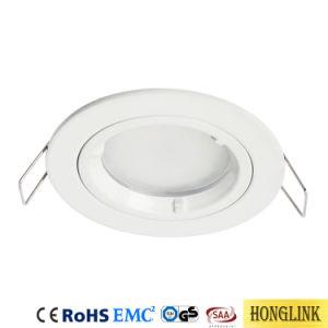 Weiße vertiefte Downlight Vorrichtung des Gehäuse-LED Decke