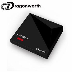 Pendoo MiniRk3328 1g 8g Android 7.1 Fernsehapparat-Kasten-Stromintelligenter hergestellter androider Android 7 Fernsehapparat-Kasten-Strom