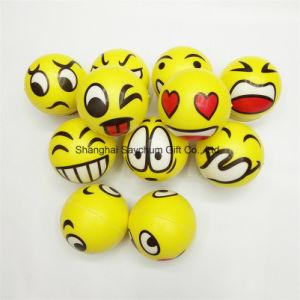 Esfera de estresse Smiley Emoji novidade squeeze ball