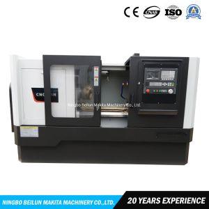 Serviço Pesado horizontal do furo grande 82mm torno mecânico CNC de corte de Metal Automática