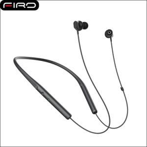 Écouteur stéréo sans fil de Bluetooth du Neckband V4.1 avec l'attraction magnétique