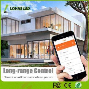 Regulable de 5W de luz LED GU10 WiFi RGBW Bombilla de luz inteligente de trabajar con Amazon Alexa/Tuya/Google Home