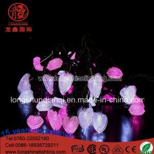 LED-Beleuchtung-Geliebt-Shell-Zeichenkette-Pendent Weihnachtsdekoration-Licht
