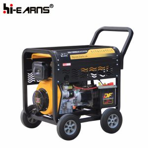 De luchtgekoelde Open Diesel van de Cilinder van het Type van Frame Enige Reeks van de Generator (DG11000E3)