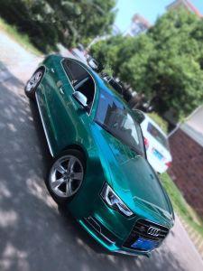 1.52 VinylBroodjes van de Auto van pvc van X 18 Meters de Smaragdgroene