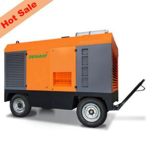Compresor de aire de tornillo portátil Diesel