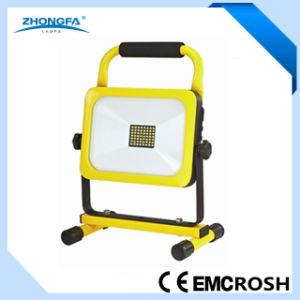 30W de iluminación exterior LED portátil recargable