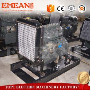 세륨 증명서를 가진 강력한 80kw Deutz 열려있는 디젤 엔진 발전기