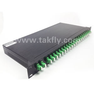 FTTH Multiplextelegraaf Optische 8+1CH Mux+ Demux CWDM