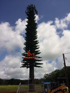 Megatroのヤシの木の吠え声のMonopineの鋼鉄タワー