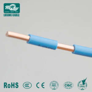 Ignifugação de 220 volts do fio elétrico 1.5Sqmm fabricados na China