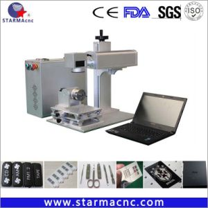 заводская цена портативный мини-оптическое волокно станок для лазерной маркировки
