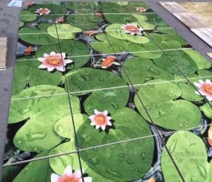 Global plafond brillant jet d'encre UV 5d'imprimante numérique