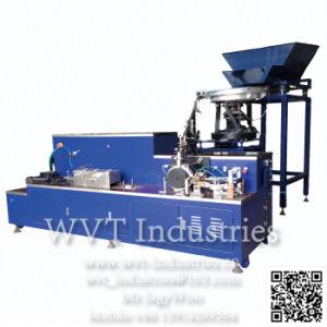 Automatischer Draht-Nagel, der maschinelle Herstellung-Zeile für hölzernen Ladeplatten-Eisen-Nagel bildet