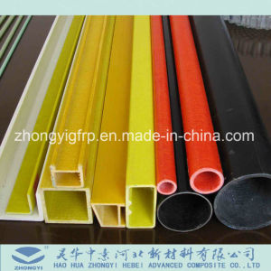 De glasvezel Versterkte Plastic Pijp GRP van de Glasvezel FRP van de Buis Samengestelde Vierkante