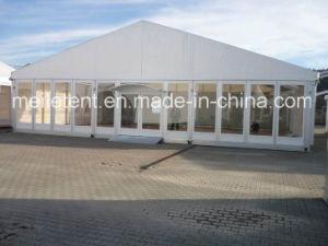屋外PVC大きいイベント党玄関ひさしの結婚式のテントおよび商標