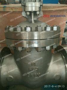 API Klep van de Poort van /CF3 van het Roestvrij staal CF8 (m) (m) de Van een flens voorzien