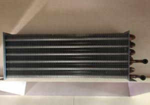 A água do tubo permutador de calor da unidade da bobina do ventilador