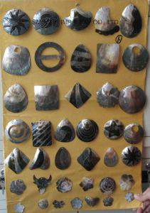 Form-natürliche Shell-Taste für Schnell-DIY Schmucksache-Zusatzgerät der Hemd-