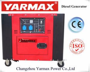 Yarmax 4.55kw 5.5kw ультра молчком тепловозное Genset с ценой Ym7000t фабрики OEM Ce ISO9001 самым лучшим