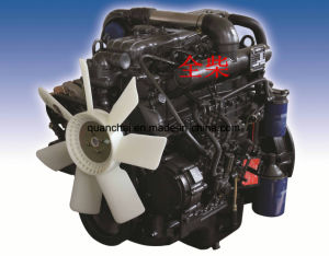 Motore diesel di Turbocharging 4cylinders per la mietitrice del riso