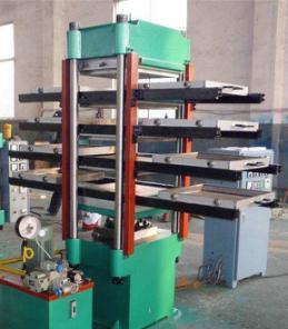 세륨 ISO9001 Certificate를 가진 고무 Tile Vulcanizing Press