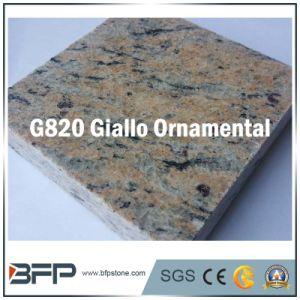 Tegel van de Vloer van het Graniet van Brazilië van Giallo de Sier Gele voor Countertop