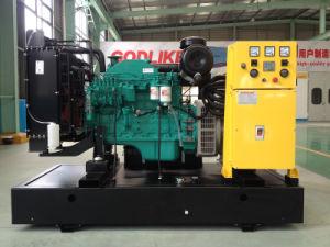 130kVA 3 Phasen-Cummins Engine angeschaltener Dieselgenerator (6BTAA5.9-G2)