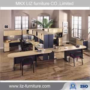 El Jefe Ejecutivo de muebles modulares de madera para oficina de recepción (2228)