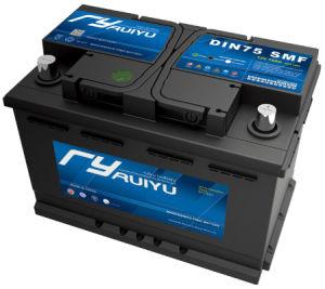 Accumulatore per di automobile automatico acido al piombo sigillato 75ah di DIN75 12V Mf