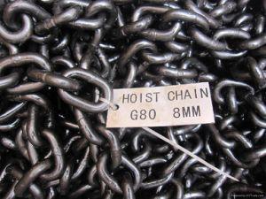 G80 La chaîne de levage de la chaîne de liaison en alliage de classe 80