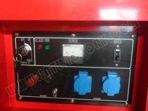 11kVA CE/Soncap/Ciq 증명서를 가진 침묵하는 휴대용 디젤 엔진 쌍둥이 실린더 엔진 발전기