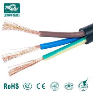 H05VV-F Fio plano flexível eléctricos de cobre 220V Cabo de Alimentação