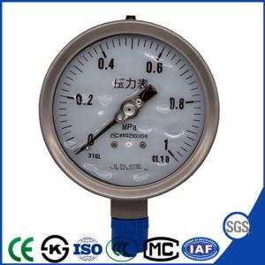 Buon manometro resistente di vendita dell'acciaio inossidabile di vibrazione con il prezzo basso
