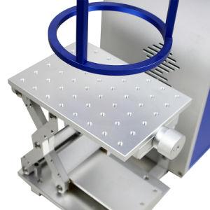 Het plastic Systeem van de Druk van de Laser van de Vezel van de Snelheid van de Contactdoos Snelle Draagbare
