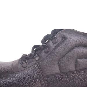 De cuero repujado marca de zapatos de seguridad para los trabajadores