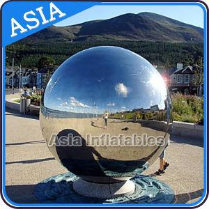 De Bal van de Spiegel van de Decoratie van het overleg, de Opblaasbare Bal van de Spiegel, de Ballon van de Spiegel van de Strook